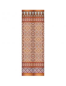 Mosaïque arabe cuivre MZ-M011-91
