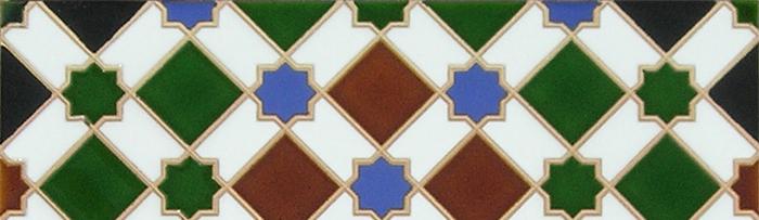 Azulejos Árabes de colores