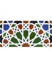 Faïence arabe relief MZ-039-00