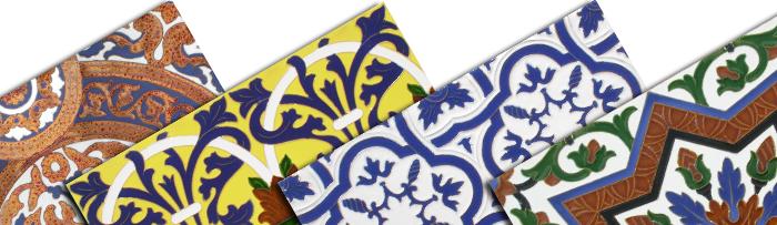 Azulejos relieve Sevillanos